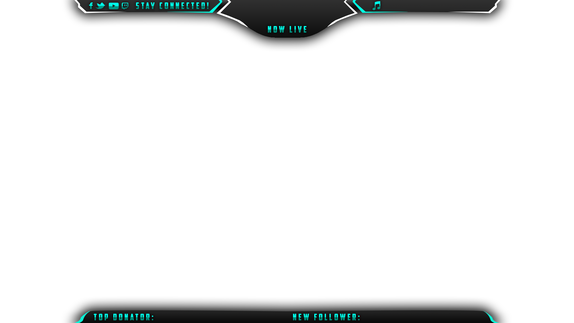 Panix twitch overlay for Free twitch overlay template